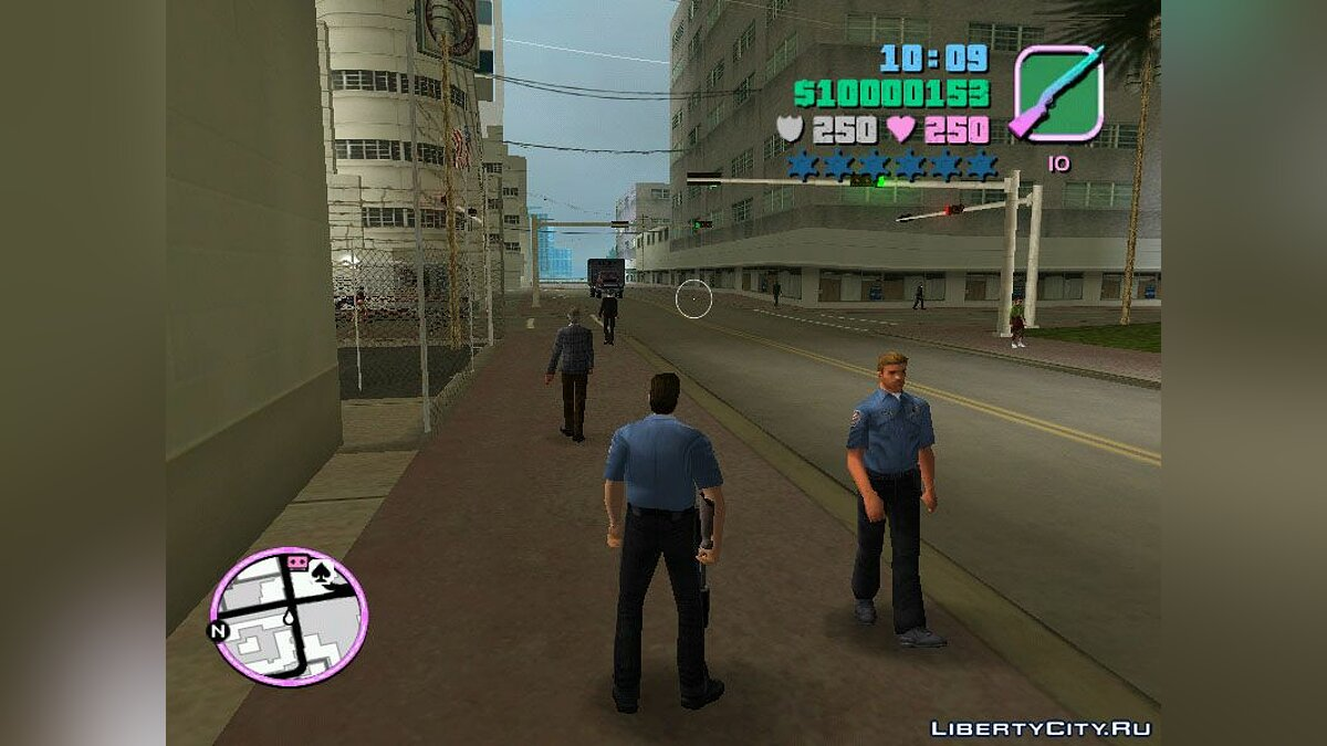 Texture mod The modern police for GTA Vice City