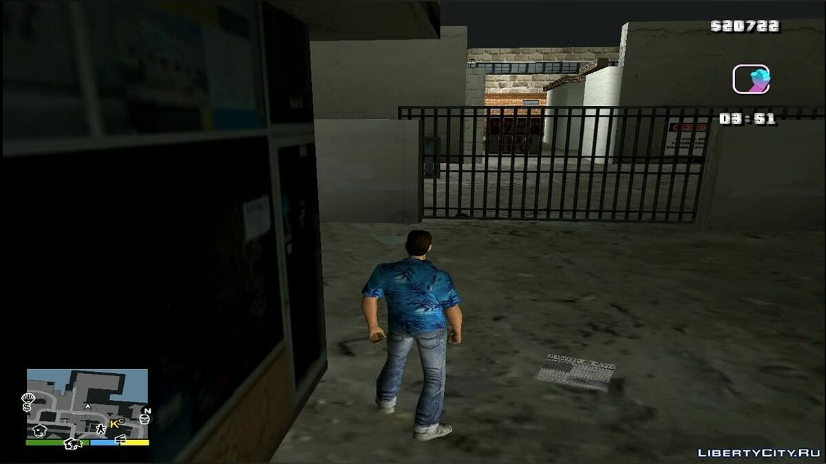 Texture mod Haitian drug lab for GTA Vice City