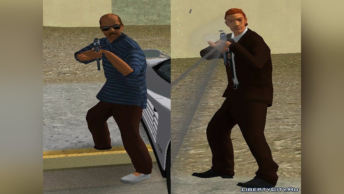 Texture mod Rescue Services in HD for GTA Vice City