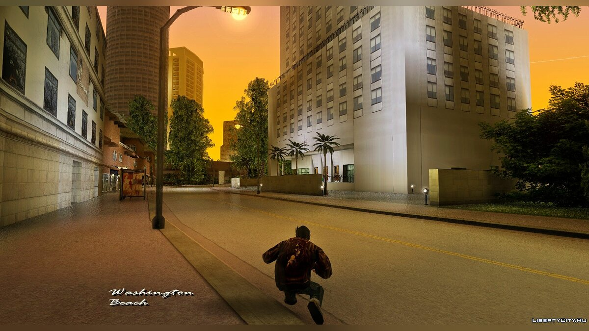 Texture mod Project Oblivion for Vice City (Trees) 2020 for GTA Vice City