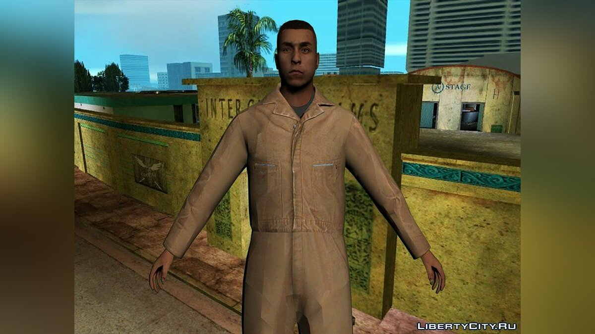 Texture mod Steve Scott and his staff in HD for GTA Vice City
