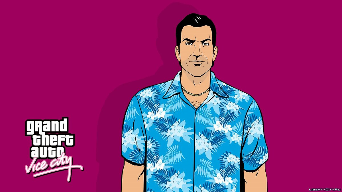 Texture mod Vice City Full HD Loadscreens for GTA Vice City