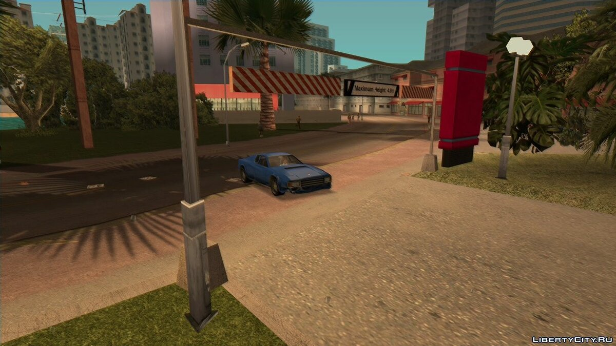 Texture mod VRTP 1.2 for GTA Vice City