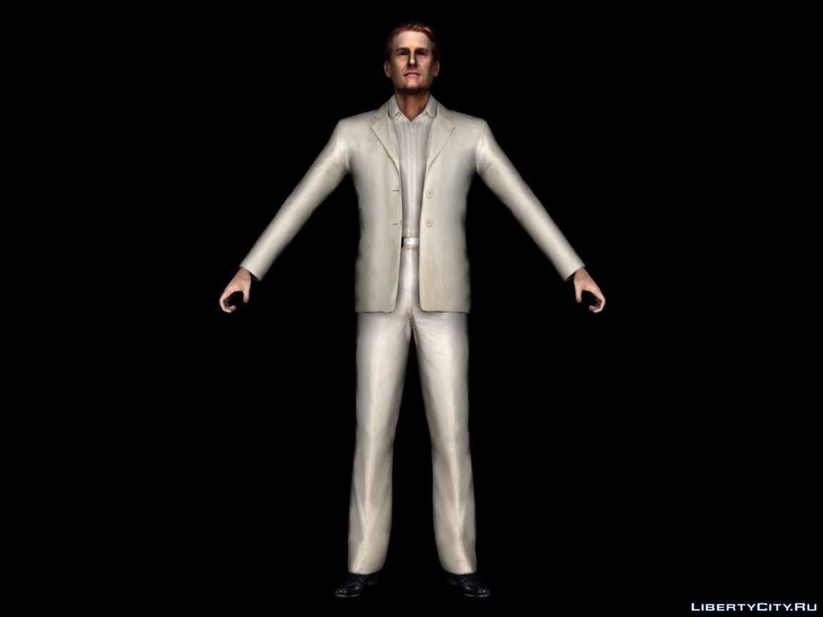 The Model Of Vladimir Lem From Max Payne 2 For For Modmakers