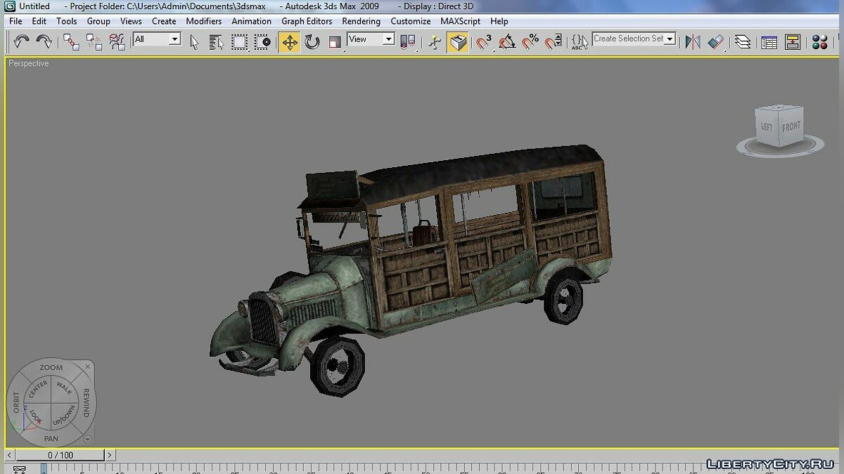 Model Cthulhu Bus for for modmakers