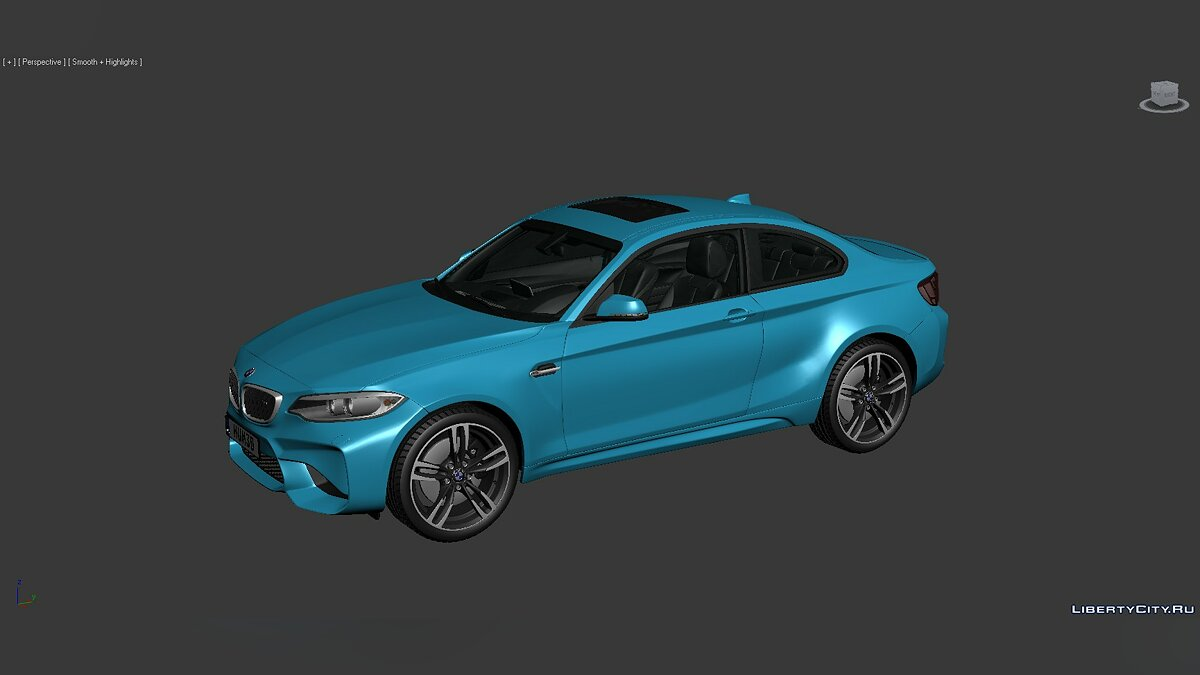 Model 3D Models BMW 2 Series (F87) 2015 for for modmakers