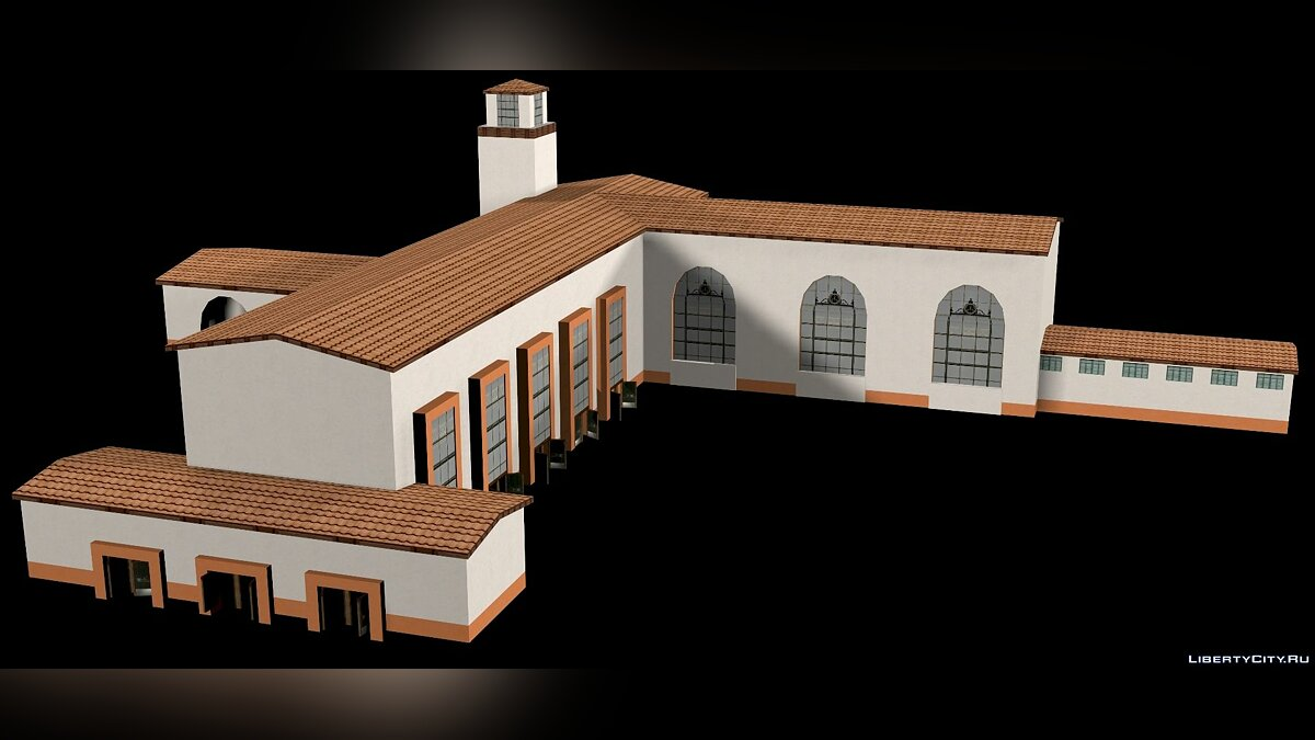 Open Air Station SA (3d model) for for modmakers