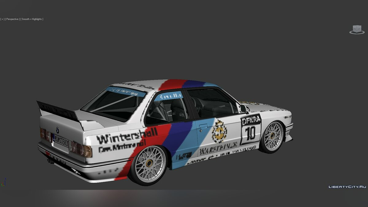 Model 3D Models BMW 3 Series (E30) 1986 for for modmakers