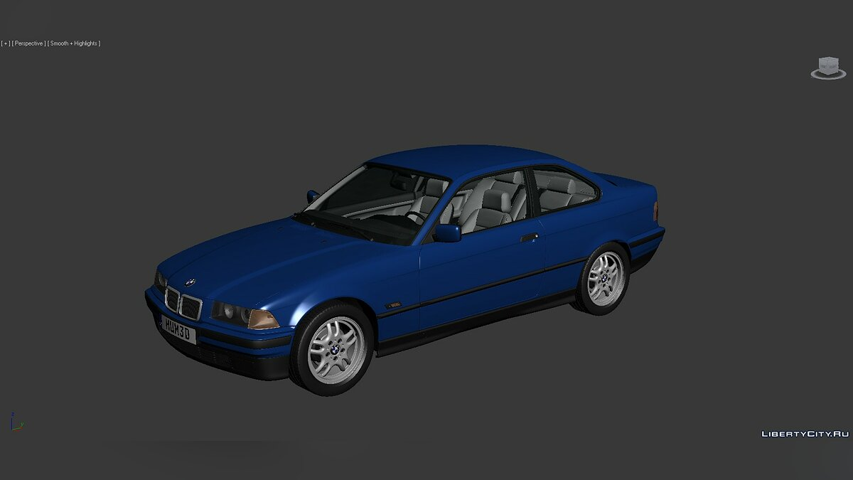 Model 3D Models BMW 3 Series (E36) 1993 for for modmakers