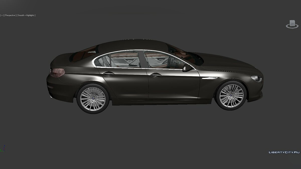 Model 3D Models BMW 6 Series (F06) 2012 for for modmakers