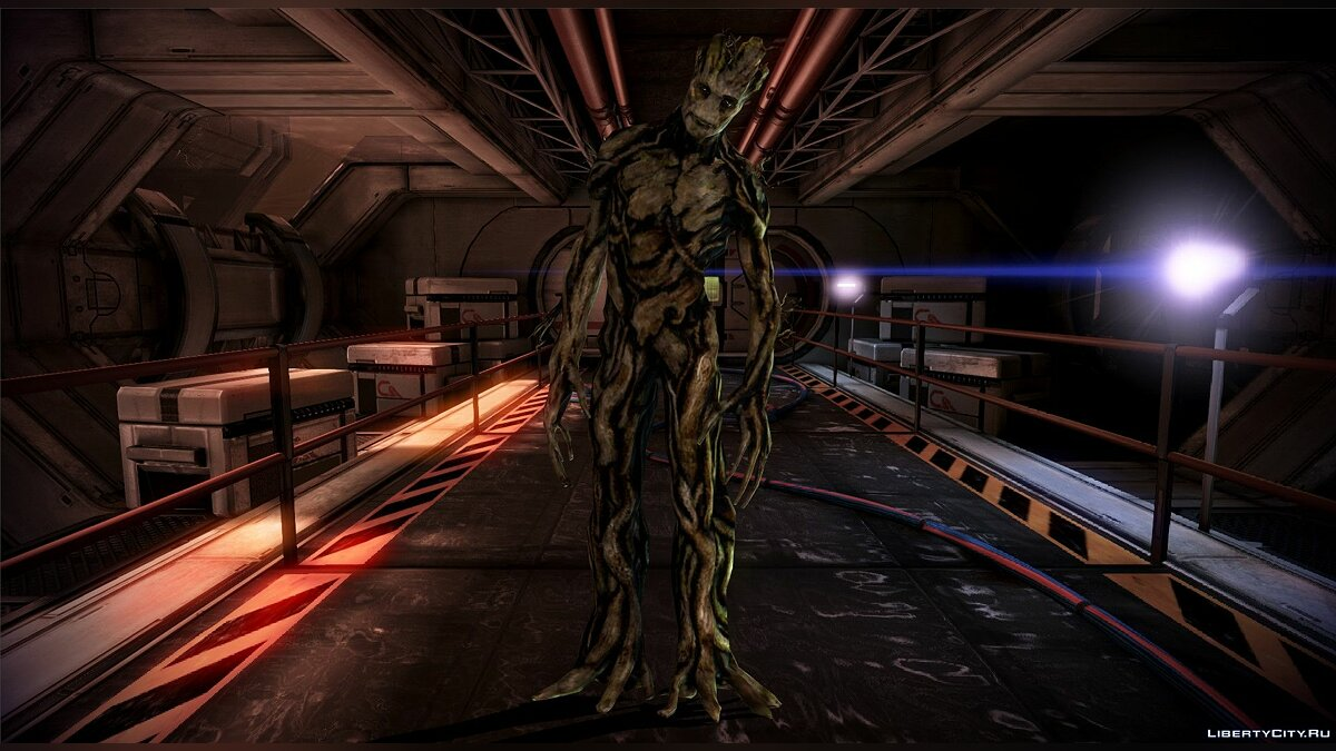Guardians of the Galaxy - Groot for XNALara / XPS for for modmakers