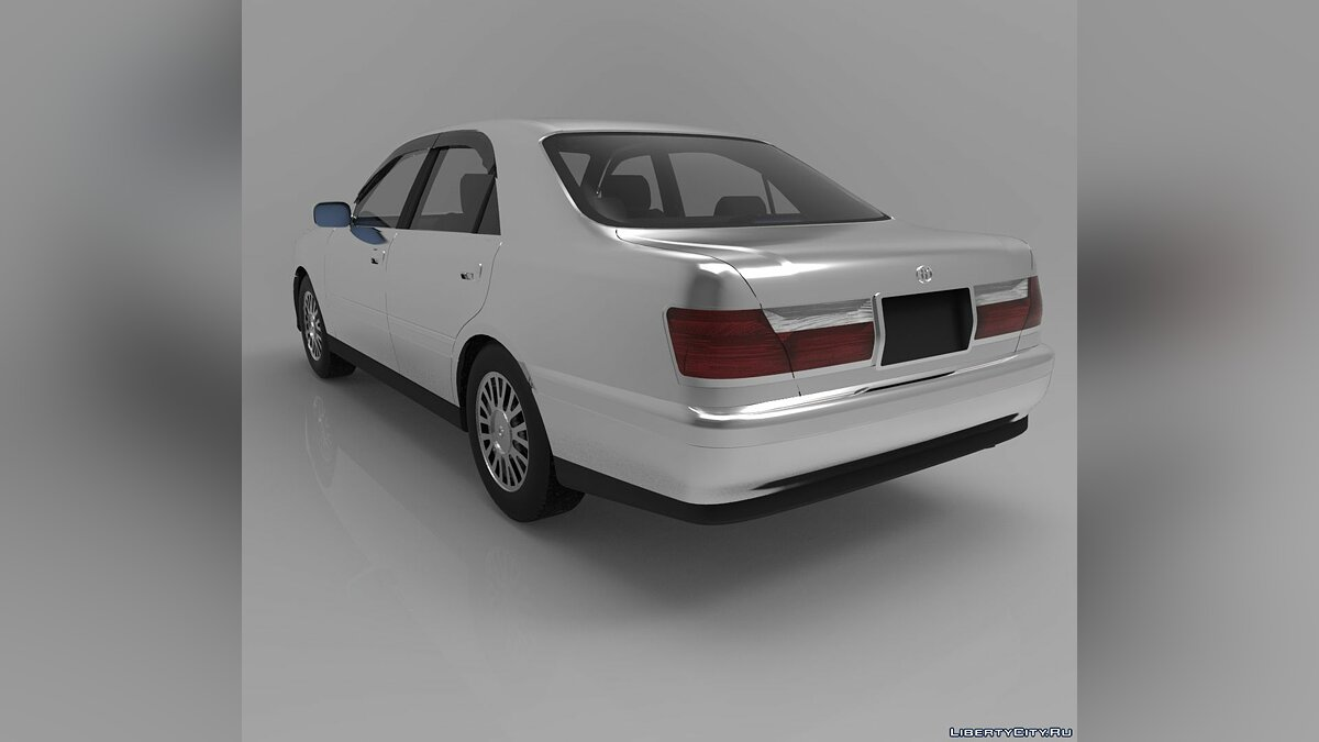 Model Toyota Crown 3D MODEL for for modmakers