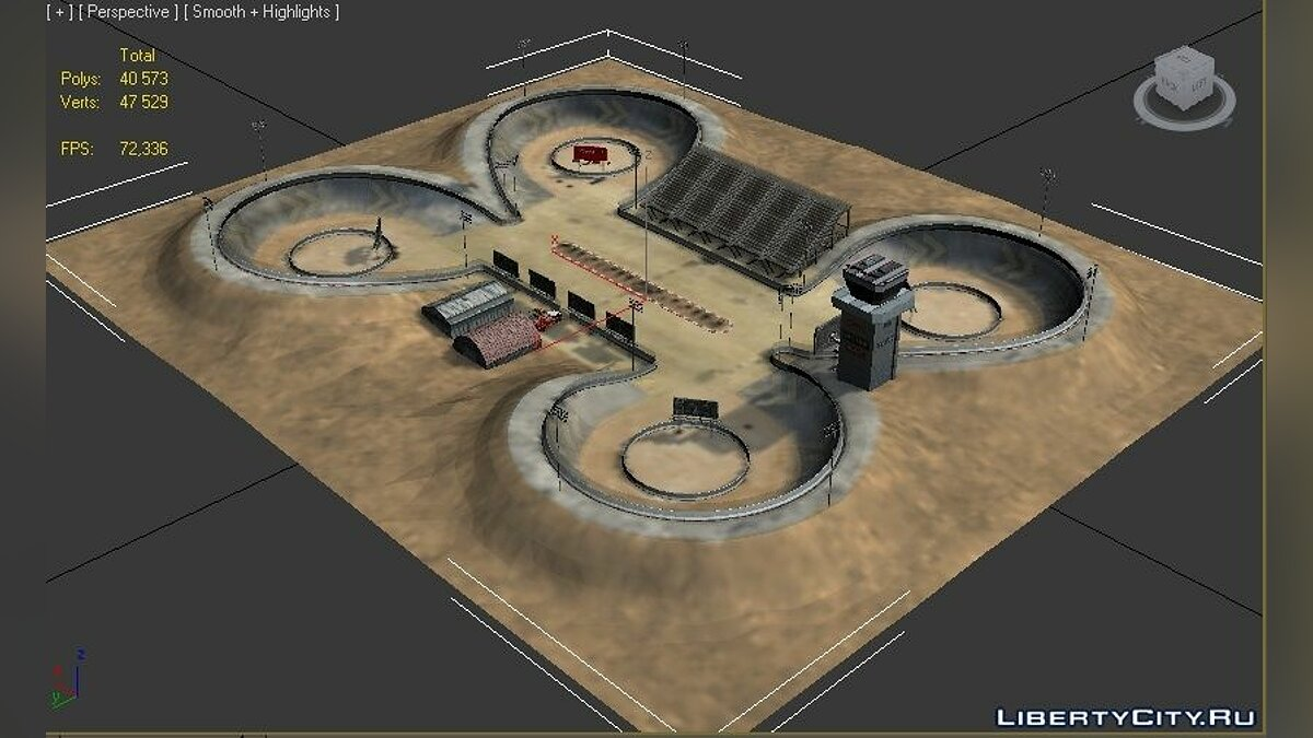 """Arena_3"" from FlatOut 2 for for modmakers - screenshot #2"