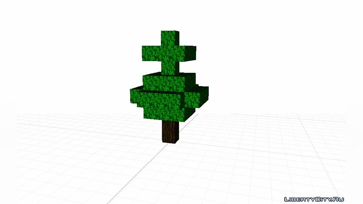 Fur-tree from Minecraft for for modmakers