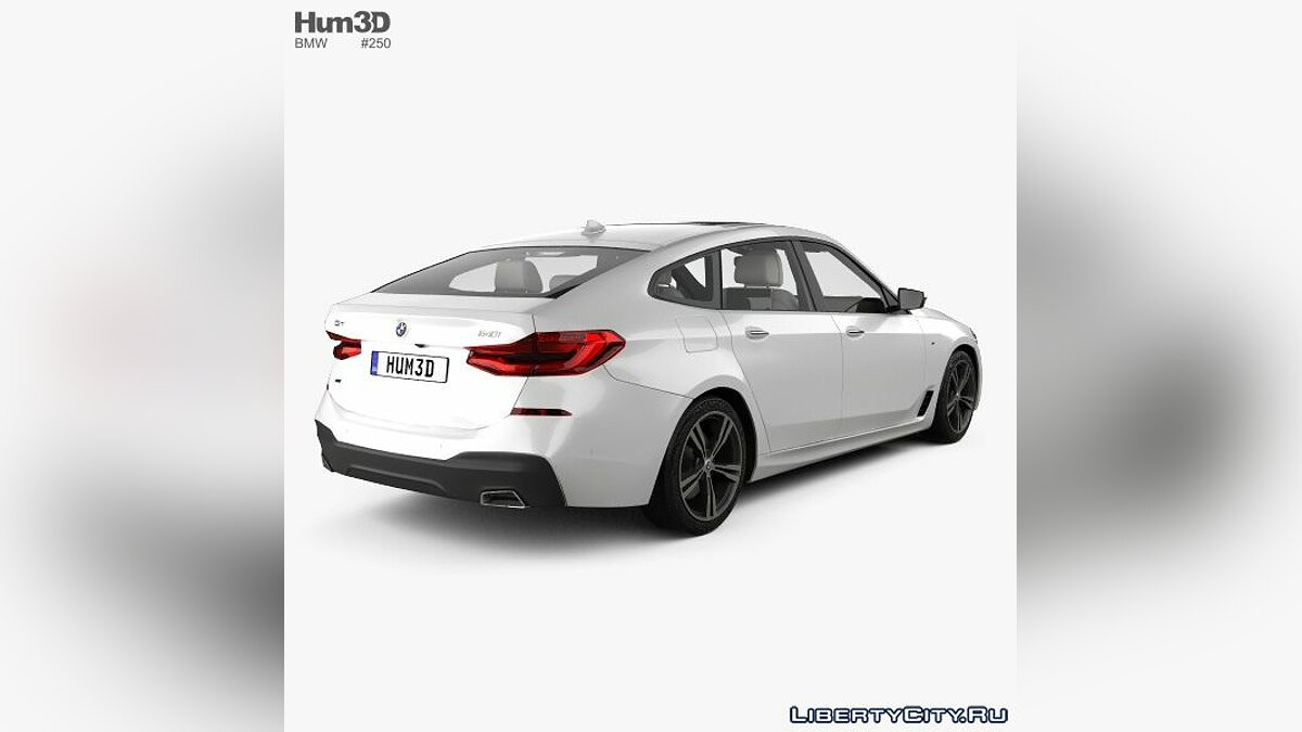 Model BMW G32 Gran Turismo for for modmakers