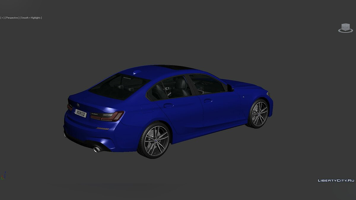 Model 3D Models BMW 3 Series (G20) 2019 for for modmakers
