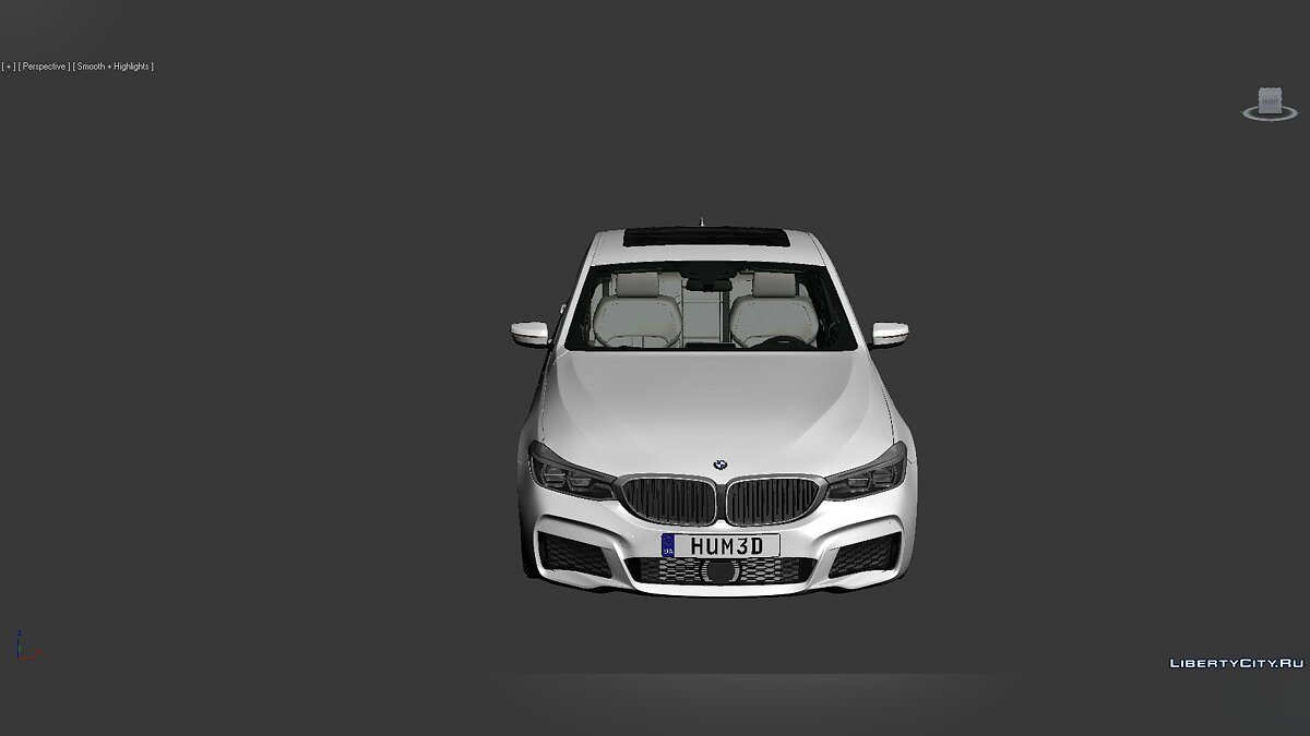 Model 3D Models BMW 6 Series (G32) 2017 for for modmakers