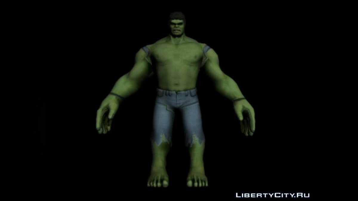 Hulk by AleksGTA for for modmakers