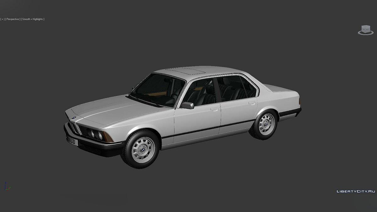 Model 3D Models BMW 7 Series (E23) 1982 for for modmakers
