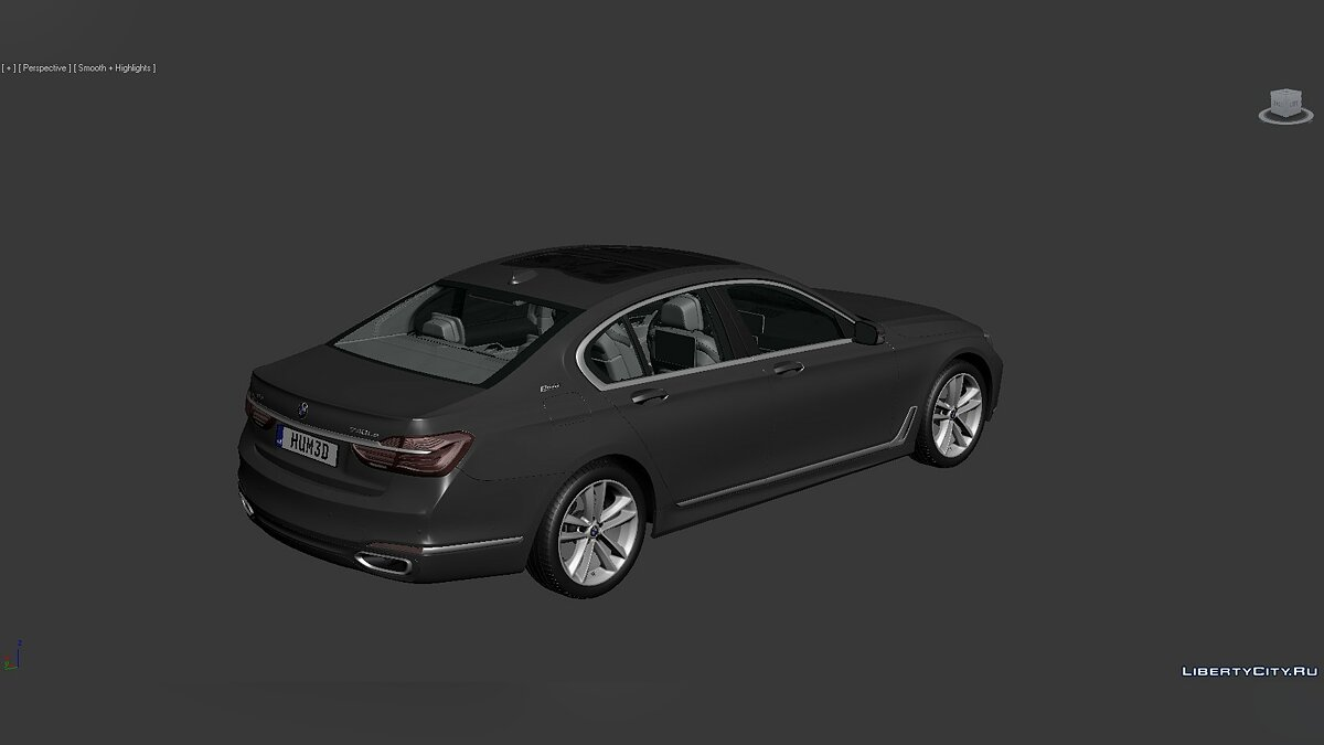 Model 3D Models BMW 7 Series (G12) 2015 for for modmakers