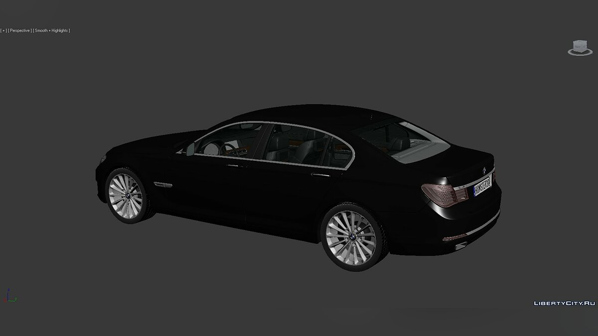 Model 3D Models BMW 7 Series (F02) 2013 for for modmakers