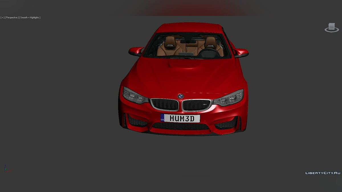 Model 3D Models BMW 4 Series (F83) 2014 for for modmakers
