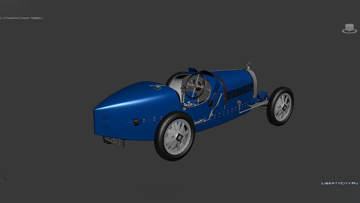Model 3D Models Bugatti Type 35 1924 for for modmakers