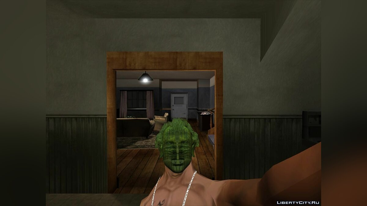 Joker's Hair for CJ for for modmakers - screenshot #2