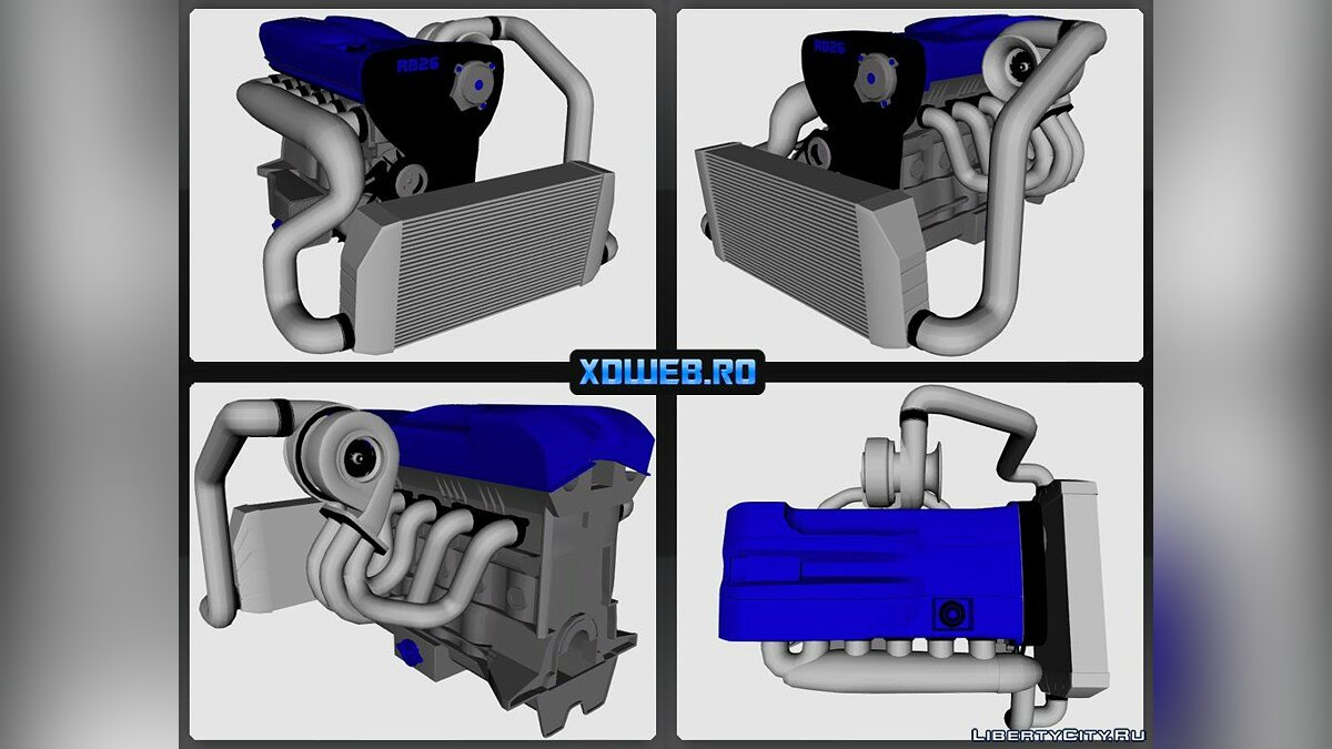 RB26DET (engine) for for modmakers - Картинка #1