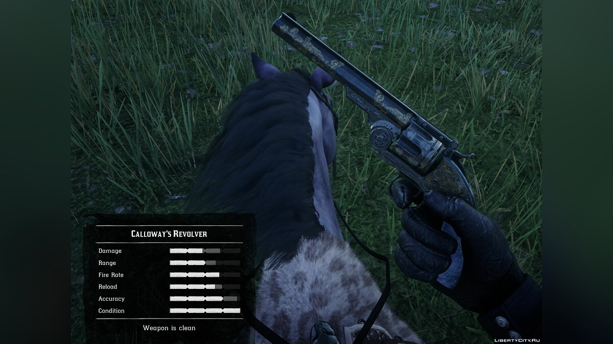 Weapon mod Dutch's Weapons for Red Dead Redemption 2