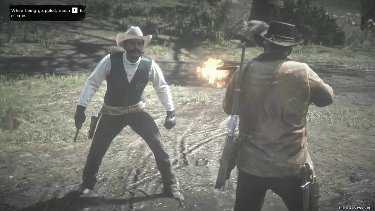 Script mod Dropping blood for Red Dead Redemption 2