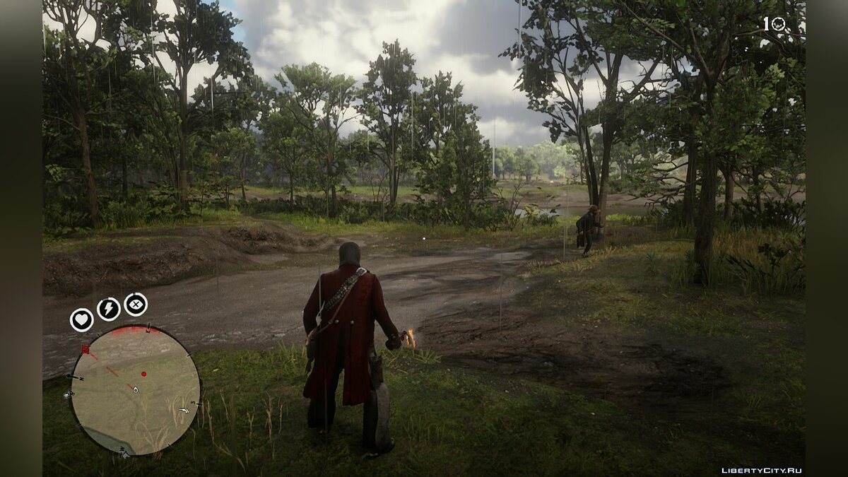 Script mod Island Survival (BETA) for Red Dead Redemption 2