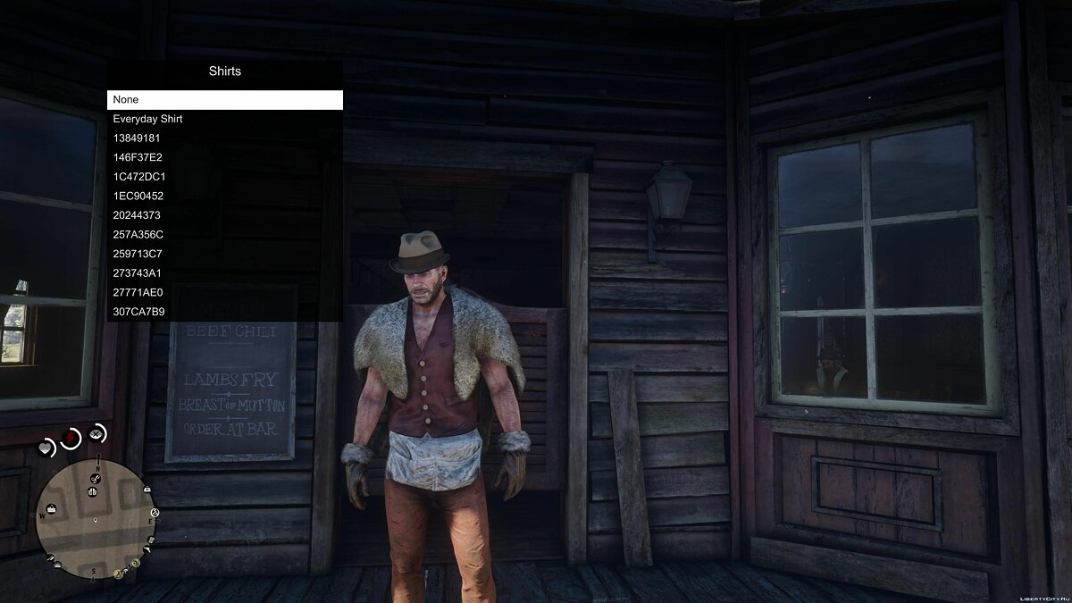Script mod RDR 2 Outfit Changer 0.3 for Red Dead Redemption 2
