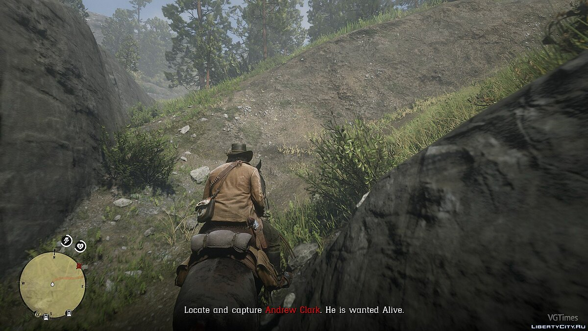 Script mod New Bounty Hunter Quests for Red Dead Redemption 2
