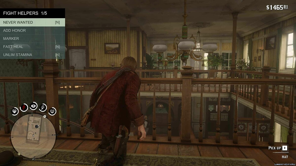 Script mod Simple Fight Club - Simple Fight Club for Red Dead Redemption 2