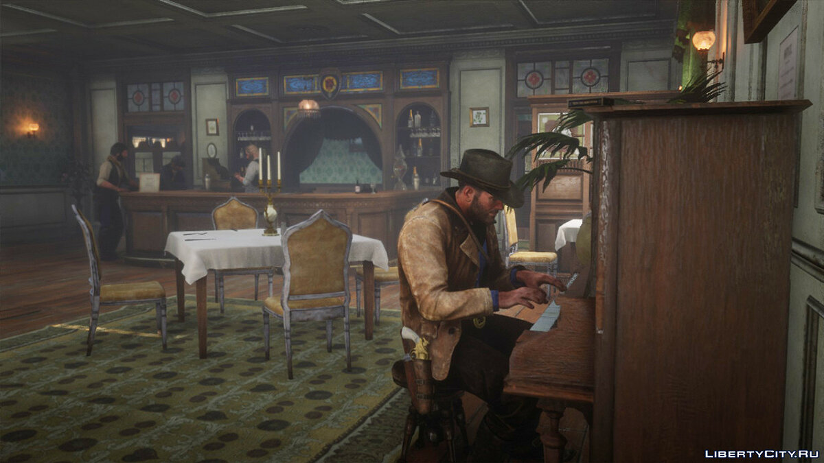 Script mod Play the piano for Red Dead Redemption 2