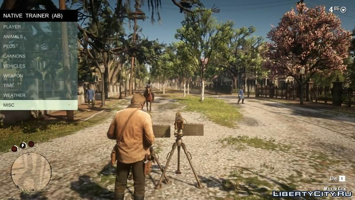 Script mod Script Hook + Native Trainer [v1.0.1232.13] for Red Dead Redemption 2