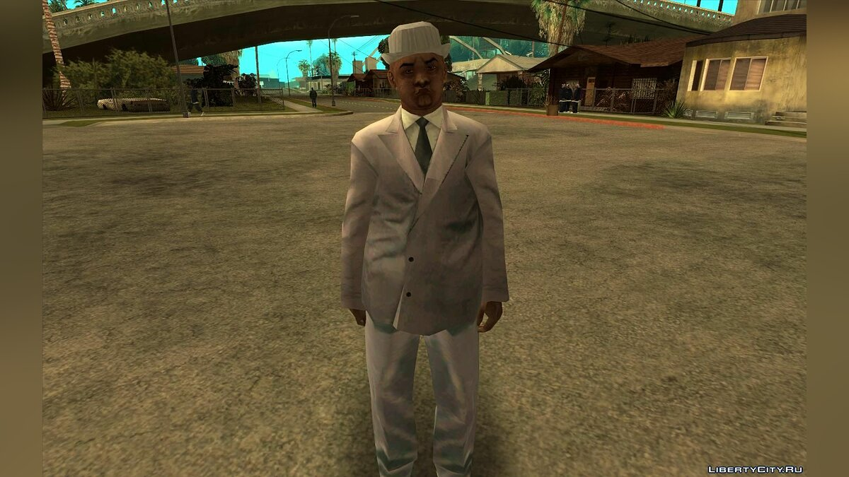 Skin The Notorious B.I.G. for GTA San Andreas