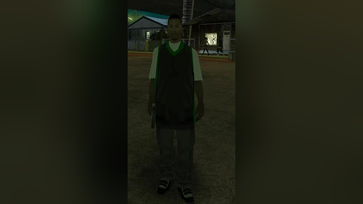 Skin The New Grove Street Guy for GTA San Andreas