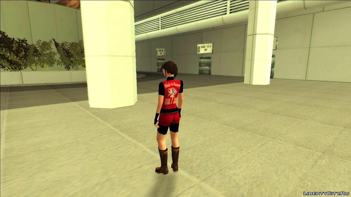 Skin Claire redfield for GTA San Andreas