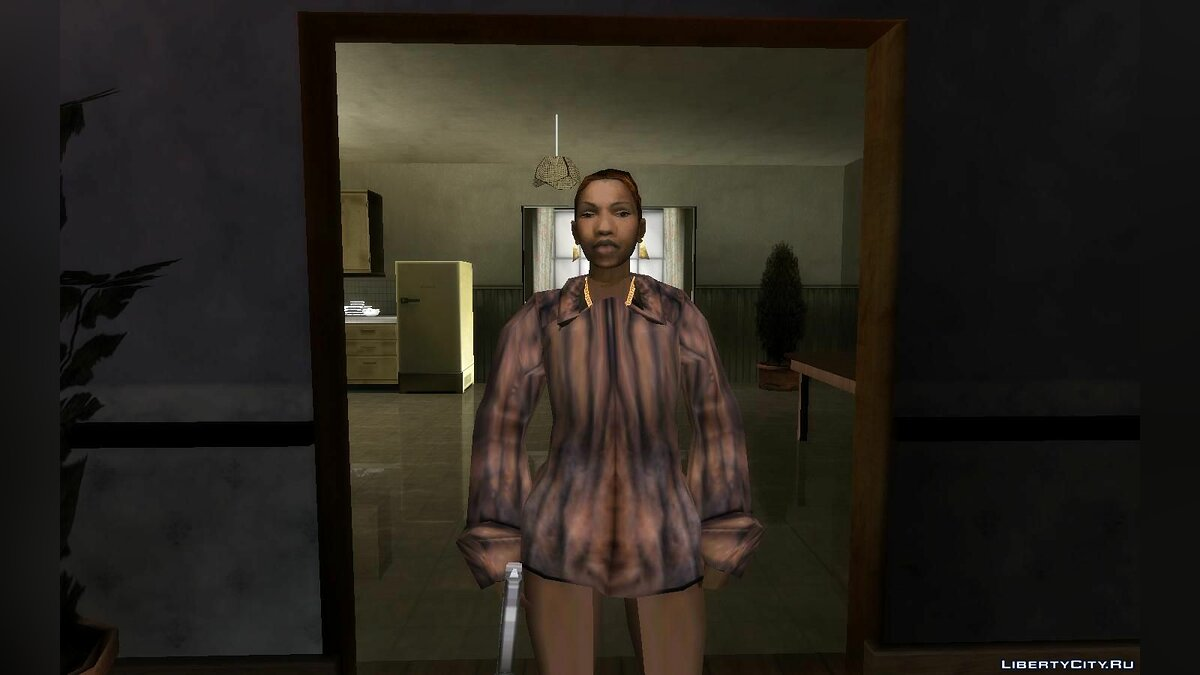 Skin Sexy Candle Johnson for GTA San Andreas