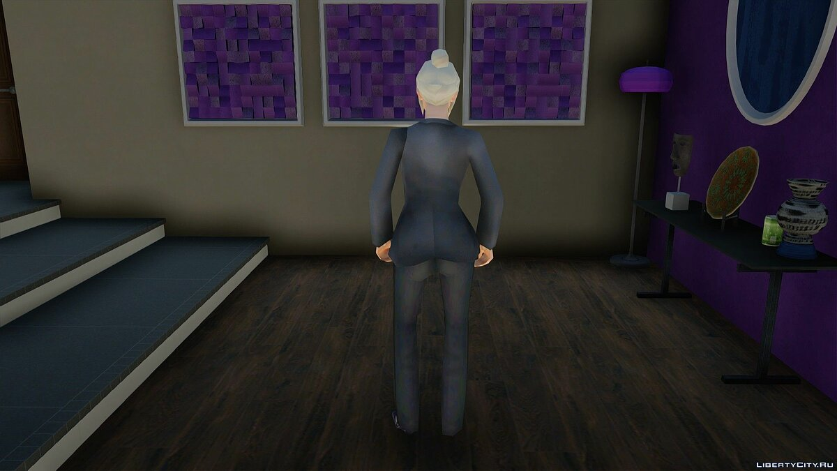 Skin A girl in a business suit for GTA San Andreas