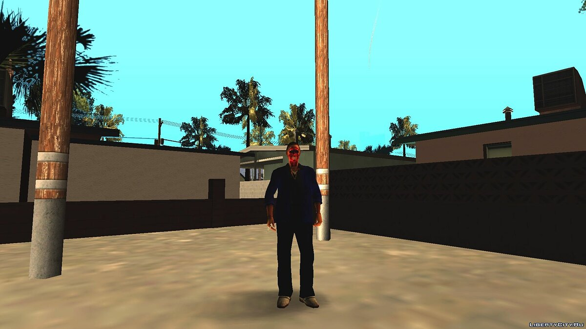 Skin Andre without face for GTA San Andreas