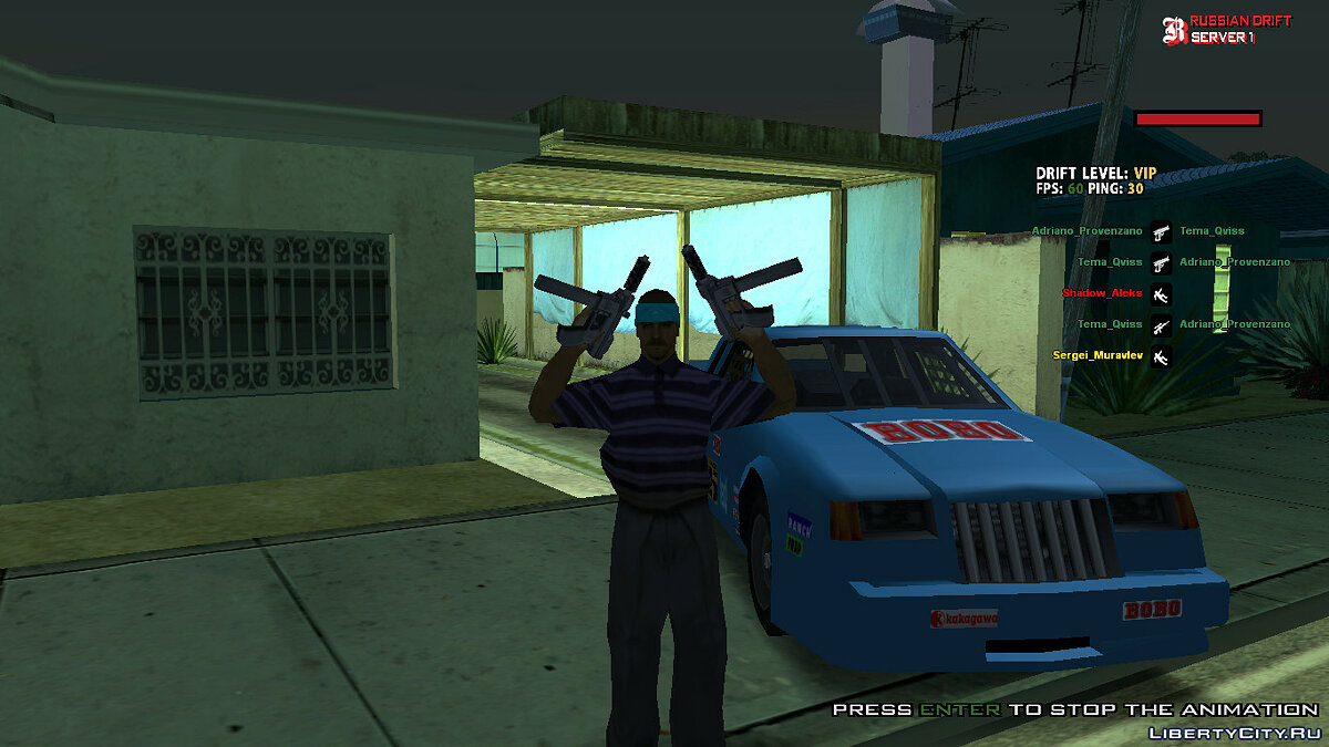 Skin Aztec [Color Correction + Black Style] for GTA San Andreas