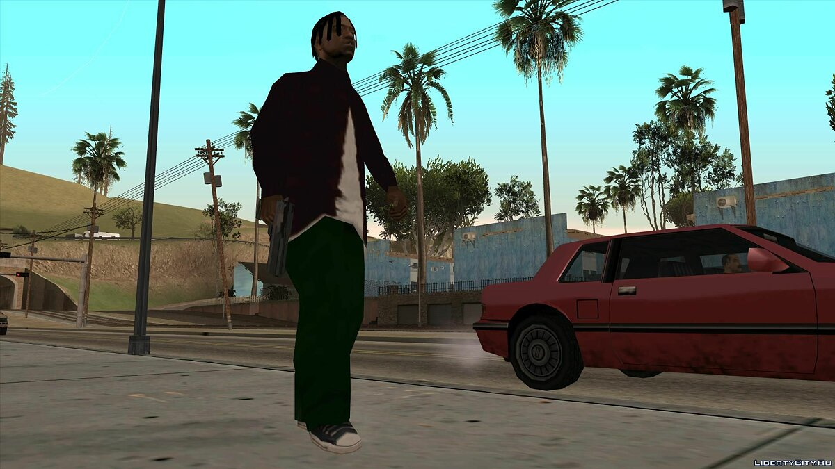 Skin Agents of Last Hope (Part 2) for GTA San Andreas