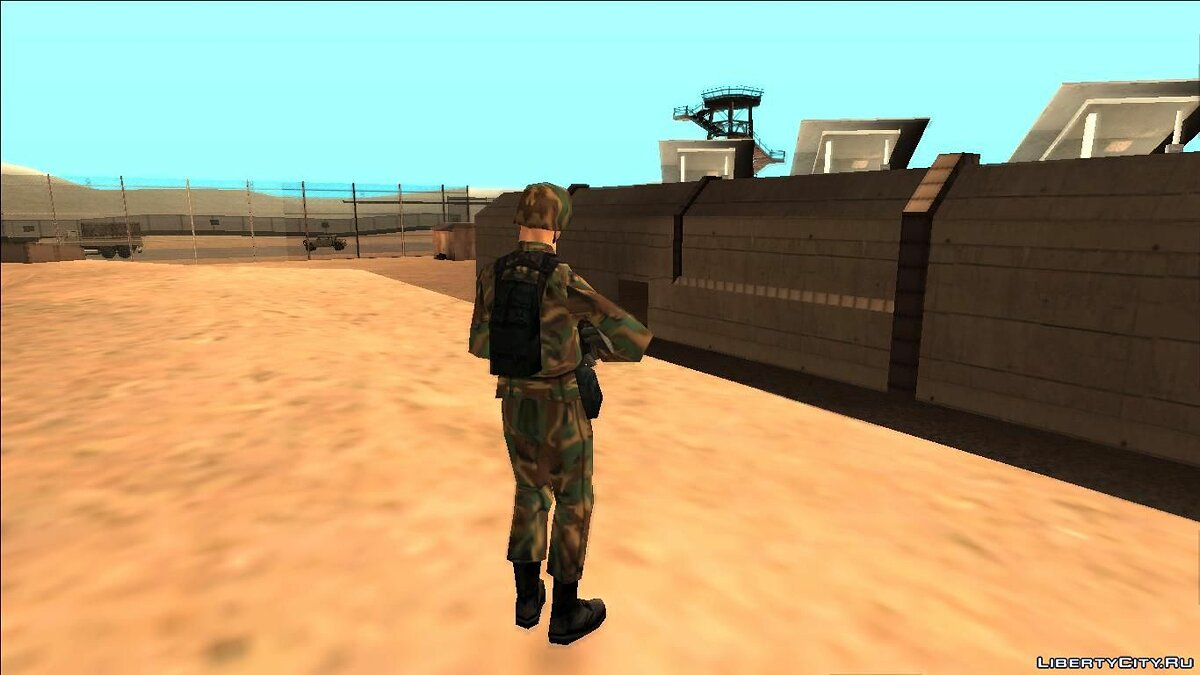 Skin New SWAT Special Forces and Armyman for GTA San Andreas