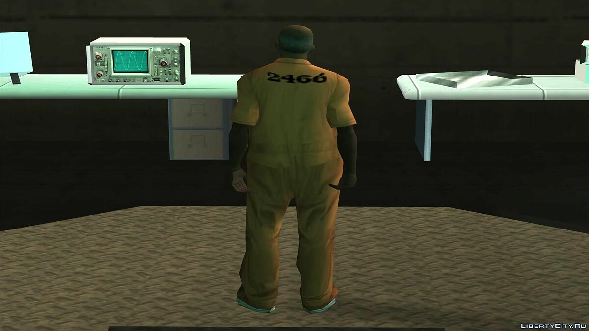 Skin SCP personnel pack for GTA San Andreas