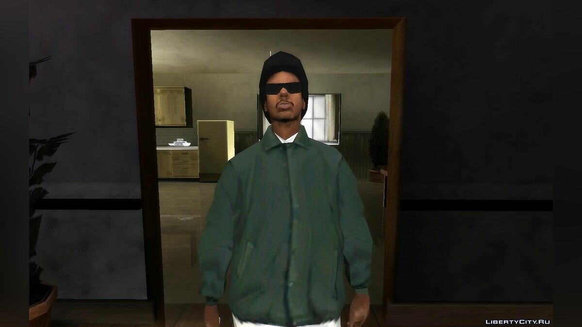 Skin Rider without cap for GTA San Andreas