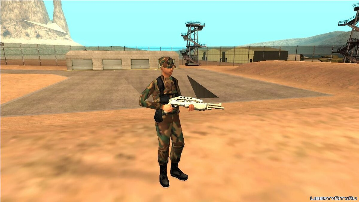 Skin Female Army Soldiers - Military Girls for GTA San Andreas