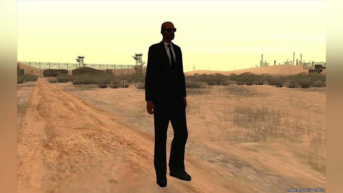 Skin Victor Vance in a suit for GTA San Andreas